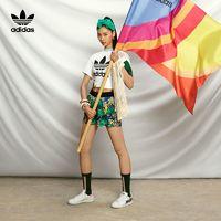 adidas 阿迪达斯 三叶草 SHORTS GC6828 女款运动短裤