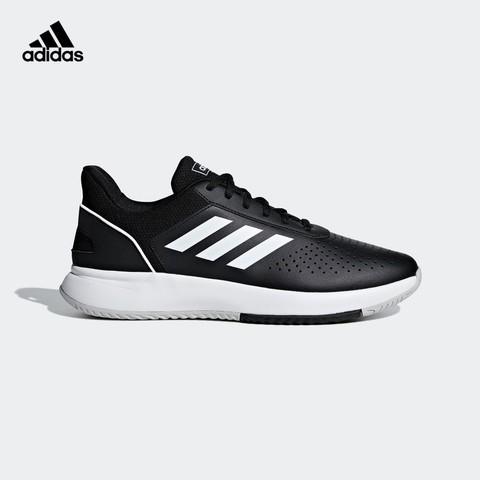 阿迪达斯官网 adidas COURTSMASH 男子低帮运动鞋F36717 FY8651