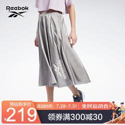 Reebok 锐步 运动经典CL W SKIRT女子半身裙裙子 GJ4946_灰咖色 A/L