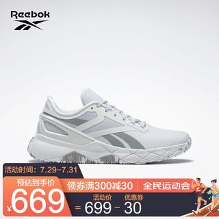 Reebok 锐步 运动健身NANOFLEX TR女子低帮训练鞋 GZ8299_白色/灰色 35