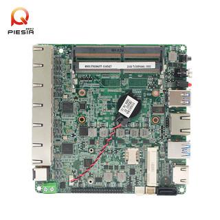 酷睿11代I7-1165G7 6个Intel千兆RJ45网口软路由网安集成工控主板