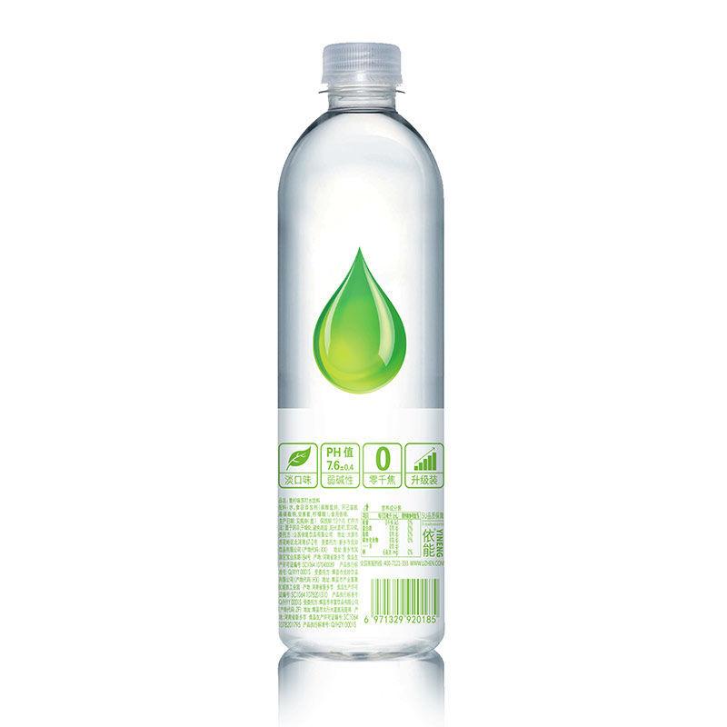 yineng 依能 苏打水 青柠味 500ML*12瓶