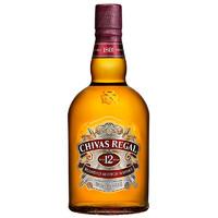 有券的上:CHIVAS 芝华士 12年 苏格兰 威士忌  1L