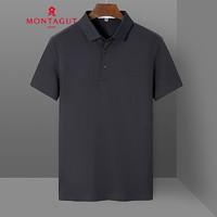 MONTAGUT 梦特娇 1KT221230E 男士短袖POLO衫
