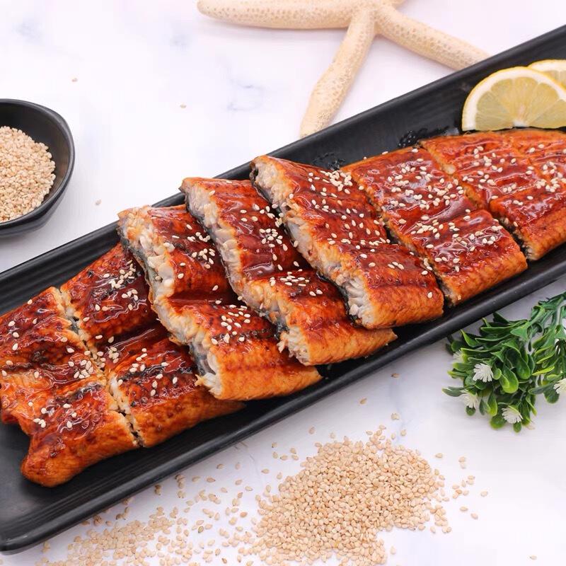 PLUS会员 : manzhidao 鳗知道 大份量日式蒲烧鳗鱼整条聚惠装 400g