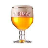 智美啤酒杯修道院啤酒杯罗斯福圣杯比利时精酿 330ML CHIMAY专用 智美啤酒杯