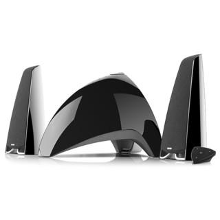 EDIFIER 漫步者 E3360BT 多媒体音箱 黑色