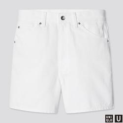 UNIQLO 优衣库 437056 女装牛仔短裤