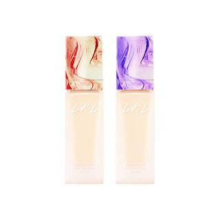 L.K.L粉底液遮瑕保湿持久控油不易脱妆女学生平价干皮混油皮bb霜