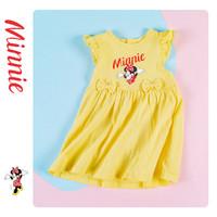 Disney baby 女童蝴蝶结小飞袖公主裙