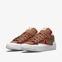31日9点:NIKE 耐克 Blazer Low/FSacai 男子运动鞋