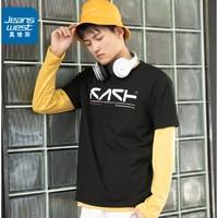 JEANSWEST 真维斯 JW-02-173TB555 男士T恤
