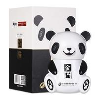 舍得 熊猫造型酒 52度 浓香型白酒 500ml 2瓶礼盒装