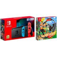 Nintendo 任天堂 国行 Switch游戏主机《健身环大冒险》套装