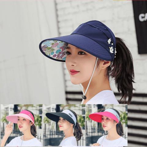 京东PLUS会员:HOCR 百搭防晒遮阳帽防紫外线帽子 多款可选