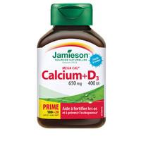 Jamieson 健美生 钙片+维生素D3   120片*3瓶