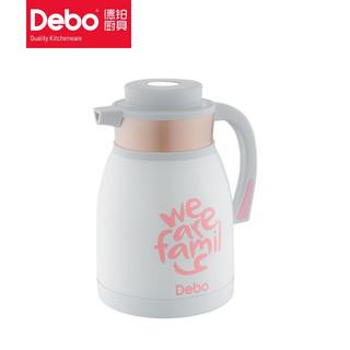 京东PLUS会员 : DEBO 德铂 奥里亚水壶304不锈钢真空保温壶1.5L