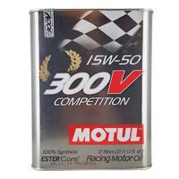 MOTUL 摩特 酯类全合成机油 300V COMPETITION 15W-50 SN 2L箱装