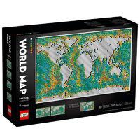 LEGO 乐高 艺术生活系列 31203 世界地图
