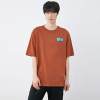 SKECHERS 斯凯奇 苏五口联名 L121M104 男款短袖T恤