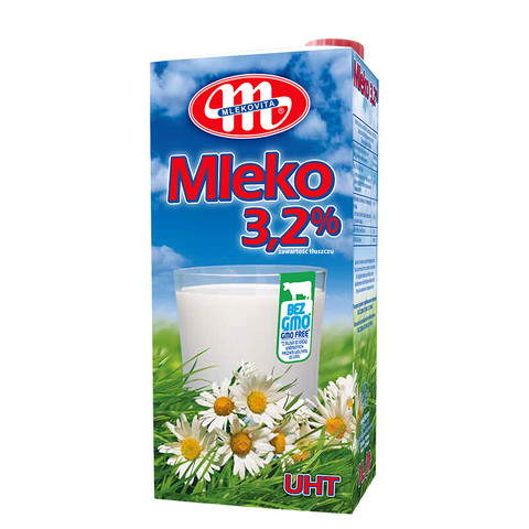 MLEKOVITA 妙可 全脂牛奶纯牛奶 1L*12盒 整箱装