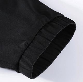 ERKE 鸿星尔克 男子运动长裤 51219253032 正黑 XXXL