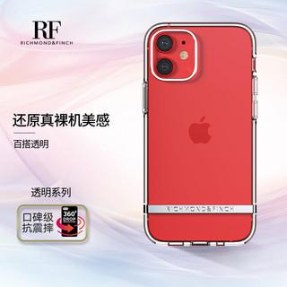 RICHMOND&FINCH苹果手机壳iphone12/12Pro超薄透明防摔网红男女款硅胶气囊软壳手机保护套 透明壳 6.1英寸