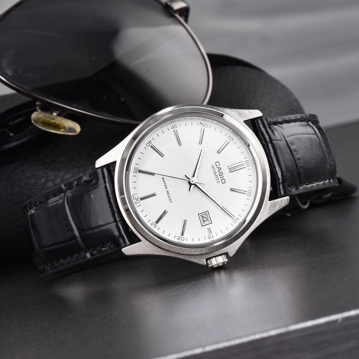 CASIO 卡西欧 指针系列 MTP-1183E-7ADF-L  男士商务石英手表