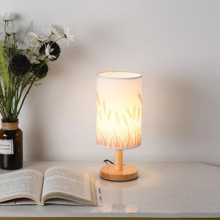 NVC Lighting 雷士照明 创意卧室床头灯简约现代复古新中式家用温馨小夜灯