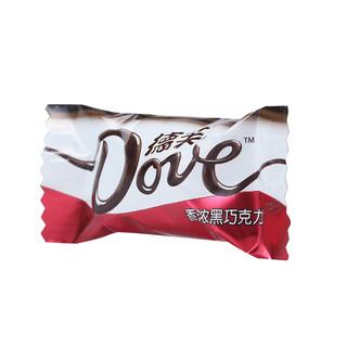 Dove 德芙 香浓黑巧克力 480g
