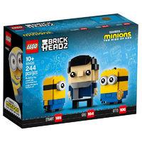 LEGO 乐高 格鲁与小黄人 40421 贝勒鲍特与小黄人