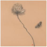Artron 雅昌 林枫《荷韵之二》50×50cm 艺术版画 客厅装饰画