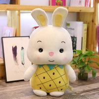 LDCX 灵动创想 兔子布娃娃 黄菠萝甜果兔