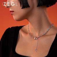 ZEGL ZS15165-B076 设计师马术系列 马衔扣星星项链