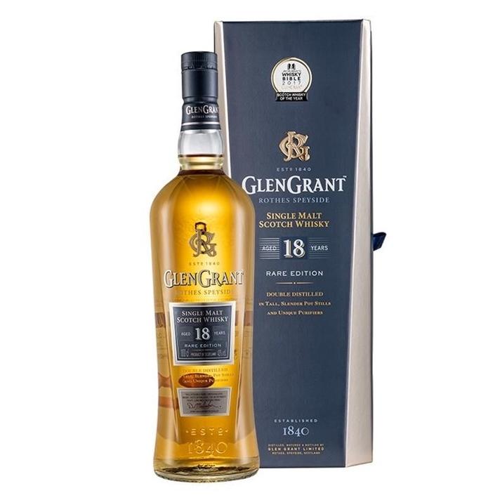 GLENGRANT 格兰冠18年 单一麦芽威士忌 1000ml