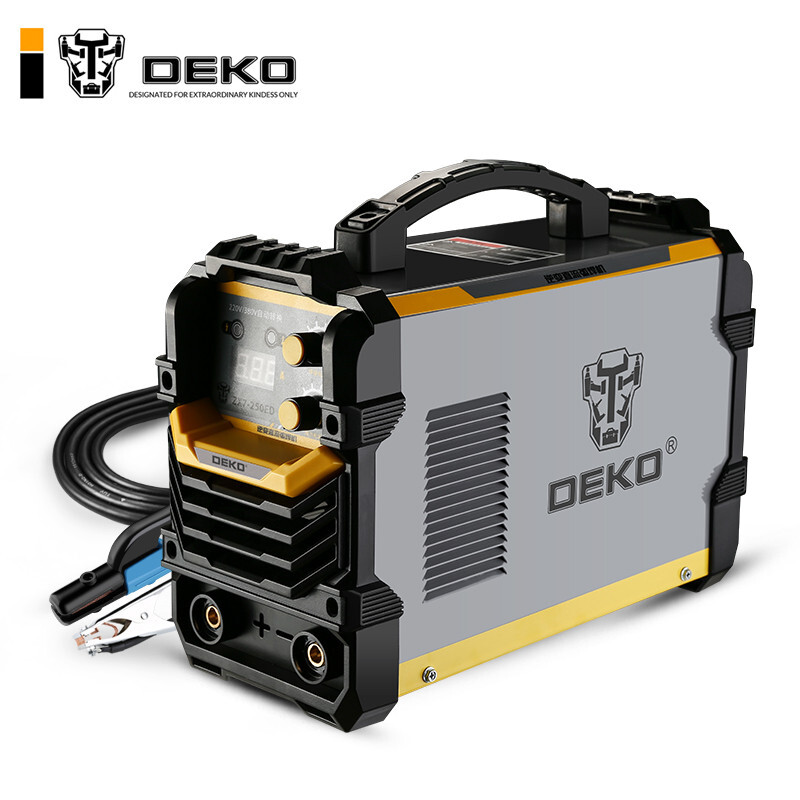 DEKO 电焊机220V380V两用双电压全手工焊机不锈钢全铜焊机