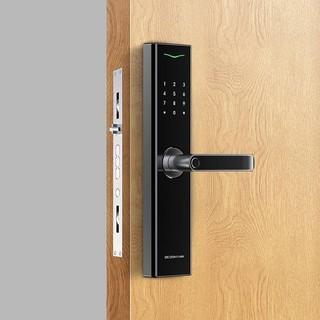Di 小嘀 德施曼密码锁指纹锁家用防盗门感应锁智能锁V7电子门锁智能门锁