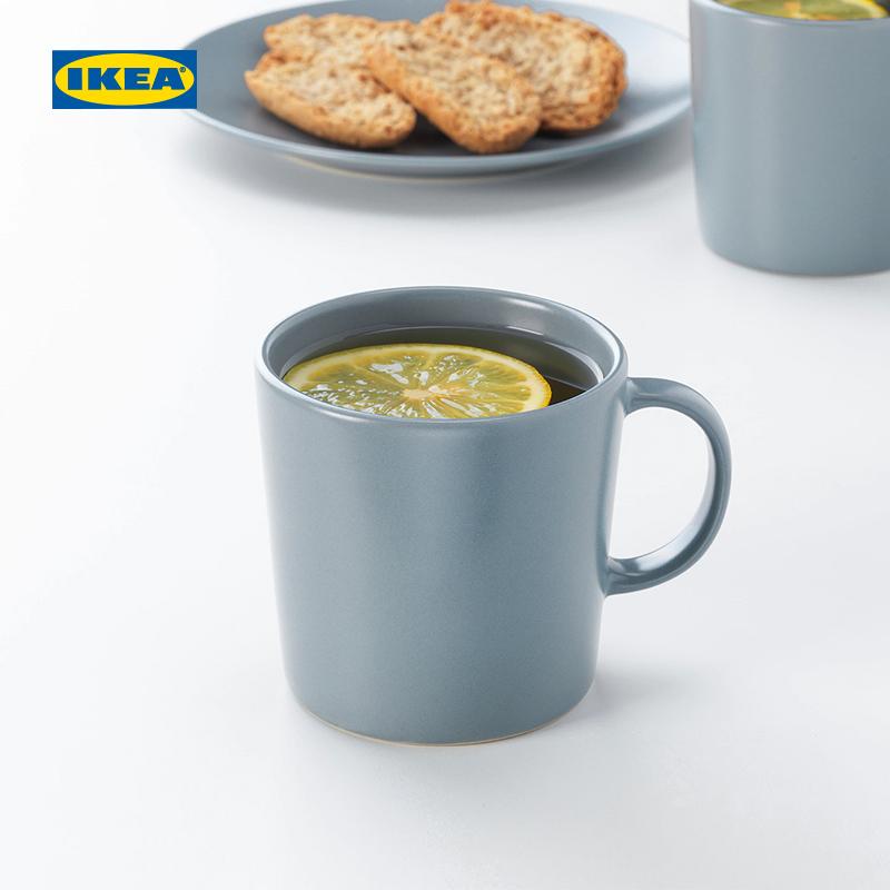 IKEA 宜家 北欧风 哑光马克杯 300ml