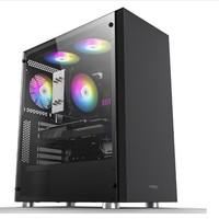 PADO 半岛铁盒 战术师 台式机电脑主机箱 黑色