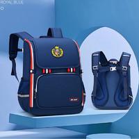 芝麻宝贝 儿童书包1-6年级耐磨肩负双肩背包
