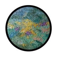 维格列艺术 田丹露 原作油画《森林重放清香》80×80cm 现代简约客厅餐厅挂画艺术装饰