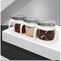 Citylong 禧天龙 调料罐 四个装配+4勺一托盘