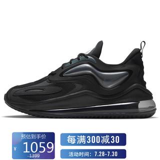 NIKE 耐克 男子 休闲鞋 经典 气垫 AIR MAX ZEPHYR 运动鞋 CV8837-002黑色