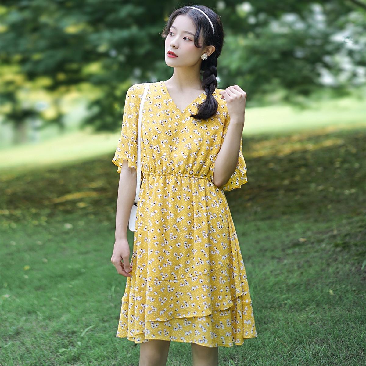 YZC 衣之纯 W520X34599 女士连衣裙