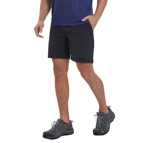 ALPINT MOUNTAIN 埃尔蒙特ALPINTMOUNTAIN 短裤男运动裤夏季速干凉爽透气健身五分裤男裤 680-201 深灰 XXXL