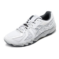 ASICS 亚瑟士 GEL-BLADE 5 耐磨防滑中性羽毛球鞋运动鞋 TOB520-0193 白色/银色 44