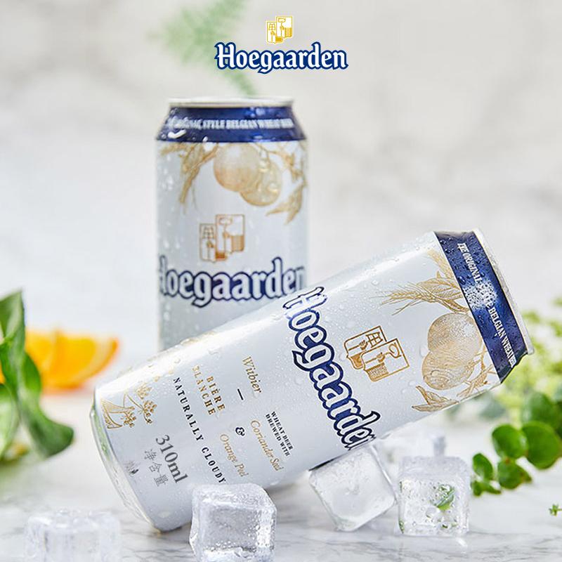 直播专享 : Hoegaarden 福佳 比利时风味小麦白啤酒 310ml*6听