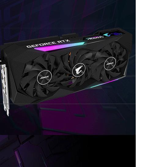 GIGABYTE 技嘉 RTX3060 Ti 显卡 8G 黑色