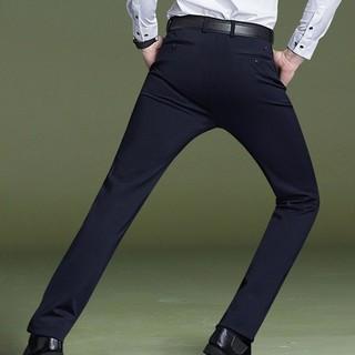 Crocodile 鳄鱼恤 男士弹力休闲长裤 98651061 黑色 32