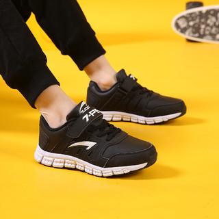 7-PE 七波辉 男童鞋儿童春季新款休闲鞋男童防滑耐磨儿童皮面运动鞋